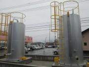 ダスキン様広島東工場 重油タンク(5000L)新設工事(2台)