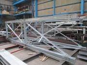 日東紡績様 富久山事業センター ガスコージェネレーション設備導入事業 配管架台・煙突架台製作工事