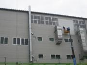 山口県宇部 排気管製作・設置工事