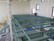日東紡績様 富久山事業センター ガスコージェネレーション設備導入事業  中2階鉄骨新設工事