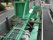 福島県葛尾村 焼却灰 処理設備架構製作
